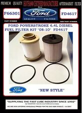 "LOT OF 25 F66301 FORD POWERSTROKE 6.4L V8 DIESEL FUEL FILTER ""2008-2010"" FD4617"