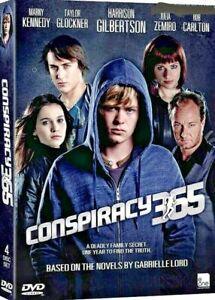 Conspiracy 365 (TV Series) DVD R0 PAL - Harrison Gilbertson, Nice Bonus extras