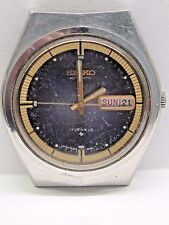 Vintage Gents Seiko Day/Date Auto 2nd hand Stainless Steel 40x37 mm #6309-8059