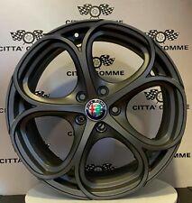 """KIT 4 Cerchi in lega Alfa Romeo Giulietta 18"""" + 4 GOMME 225/40R18 KENDA KR41."""