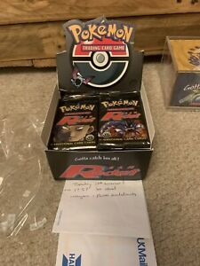 Pokemon Team Rocket 1st Edition Booster Packs Box Break