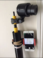 11M ROOF INSPECTION ELEVATED CAMERA POLE PHOTOGRAPHY TELESCOPIC POLE