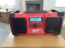 Milwaukee M18JSRDAB+ 18v Job Site Radio DAB+