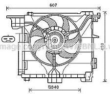 Ventola Motore Smart 451 ForTwo 800 CDi Diesel dal 2007 NUOVO