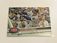 2017 Topps Chrome Baseball Base Card - Anthony Rizzo - Chicago Cubs