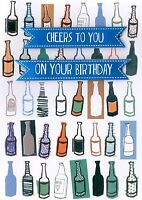 Cheers To You Birthday Greeting Card Second Nature Yours Truly Cards