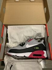NIKE AIR MAX 90 LTR (PS) WOLF GREY / WHITE-RUSHPINK-VOLT PS 833414-028 Sz 2Y