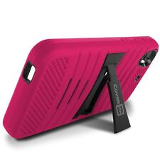 For HTC Desire 626 / 626S Case - Pink Hybrid Heavy Duty Tough Phone Stand Cover