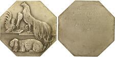 1934 Rudolf Pfeiffer Animal Breeders Association 62mm Silver Bronze Medal