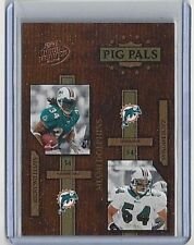 2004 RICKY WILLIAMS & ZACH THOMAS PLAYOFF HOGG HEAVEN PIG PALS #PP-16 *817/1050*