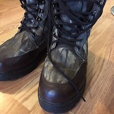 Itasca Camo Waterproof Boots Thinsulate Mens 9 Free Shipping Hunting Winter