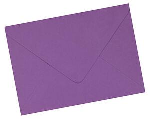 50 x A6 C6 Purple Plum 100gsm Premium Envelopes 114 x 162mm - 6 x 4 inches