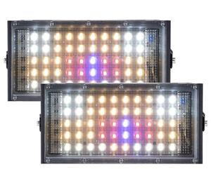 2PCS 300W Watt LED Plant Grow Light Full Spectrum Lamp for Growing Hydroponics