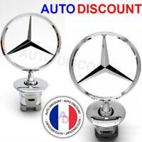 Mercedes Benz étoile Emblème Capot W202 W203 W204 W208 W210 w211 w220 S C E CLK