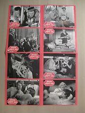 MANCHE MÖGEN´S HEISS - 8 Aushangfotos WA Lobbycards BILLY WILDER Marilyn Monroe