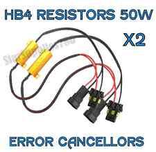 2x HB4 / 9006 RESISTENZE FENDINEBBIA Luce Avvertimento CANCELLERS HB4 50W