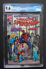 SPIDER-MAN & the NEW MUTANTS Featuring SKIDS NN #1 K-MART 1990 Promo CGC NM+ 9.6