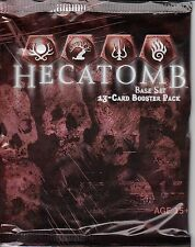 HECATOMB TRADING CARD GAME BASE SET BOOSTER PACK *CCG*