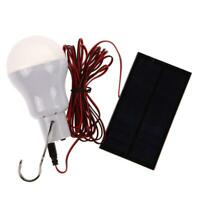 22LED Solar Light Portable Outdoor Camping Tent Remote Control Hanging Lamp UK