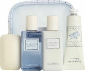 Crabtree Evelyn Nantucket briar travel set no bag