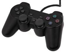 NEUF NOIR Dualshock Manette Filaire de jeux pour PS2 Play Station 2 Au