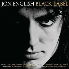 JON ENGLISH BLACK LABEL 5 CD & DVD ALL REGIONS NEW
