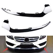 Front Bumper Lower Chrome Molding Trim L+R Set  For Mercedes_Benz W205 C300 C350