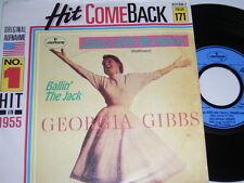 "7"" Georgia Gibbs Dance With Me Henry & Ballin the Jack-HIT ricongiungimento 171 # 1179"