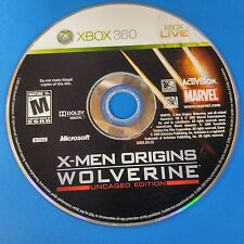 X-Men Origins: Wolverine -- Uncaged Edition (Xbox 360, 2009) DISC ONLY #5593