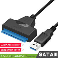 2.5 Inch HDD SSD Hard Drive External Adapter Cable USB 3.0 To SATA Converter