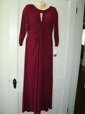 Alex Evenings Womens size 12 Dress Mother of Bride Groom Evening Gown NWT