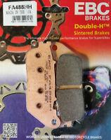 EBC SINTERED BRAKE DISC PADS HONDA CB1000 CB 1000 2009 - 2016 REAR FA488HH