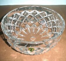 "Waterford Crystal Crosswick 8"" Ceiling Light Fixture Shade Dome Bowl Shape New"
