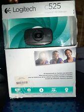 Logitech C525 HD Web Cam, 720p HD, 8mp, 360 degrees, auto focus. Webcam