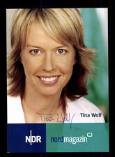 Tina Wolf Autogrammkarte Original Signiert # BC 100193
