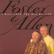New: Foster & Allen: I Will Love You All My Life  Audio CD