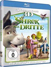 SHREK 3, Shrek der Dritte (Blu-ray 3D + Blu-ray Disc) NEU+OVP