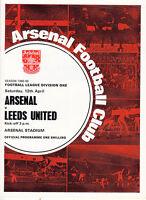 68/69 Arsenal v Leeds
