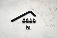 Anti-Theft *BLACK NICKEL* Security Screws for BMW FRONT License Plate Frame