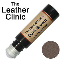 DARK BROWN Leather Paint Touch Up for Sofa Car Shoes Handbag & more.