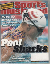 Megan Quann signed Sept 2000 Sports Illustrated Us Olympic Swimmer Personalized