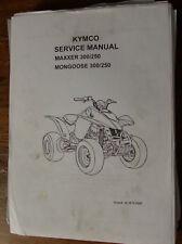 LIBRETTO USO E MANUTENZIONE KYMKO MAXXER 300-250