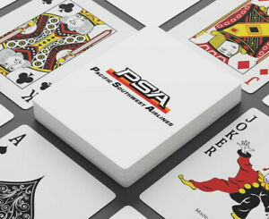 Pacific Southwest Airlines Playing Cards