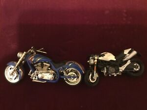 "Ducati Monster 5"" Plastic Arlene Ness Motorcycles Toy Motorcycle 6"" Diecast"