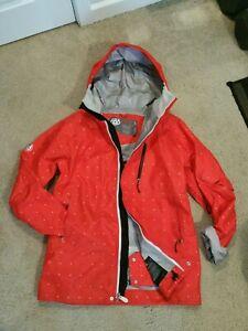 686 SixEightSix Plexus Waterproof Recco Boa Ski Snowboard Jacket. Red. Men's L