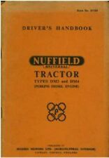 NUFFIELD UNIVERSAL TRACTOR DM3 & DM4 OPERATORS MANUAL