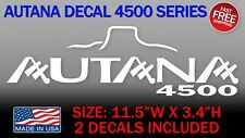 Autana Decal (2 Decals) Fits on Toyota Land Cruiser Fj80 Fj70 Fj60 Fzj80 Lx450