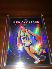John Stockton Not Autographed Basketball Trading Cards