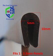Acrylic Sheet Edging / Trim / Finisher EPDM Rubber