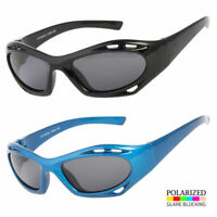 New Kids Toddler Boys Girls Black Blue Classic Sport Polarized Sunglasses Shades
